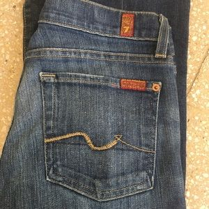 7 for all mankind Flip Flop Jeans size 27